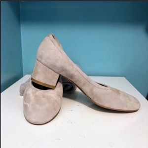 Jeffrey Campbell Bitsie gray suede heels size 10
